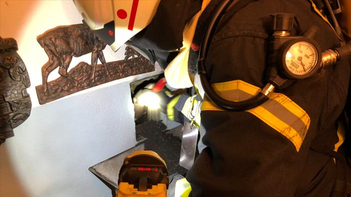 Kaminbrand in Offheim
