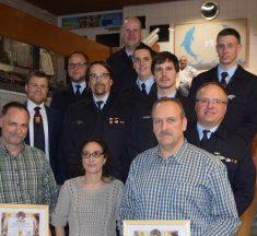 Doppelter Führungswechsel bei der Freiwilligen Feuerwehr Offheim