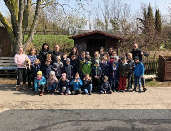 Ausflug der Kinderfeuerwehr zum »Harvesterhof Linter«